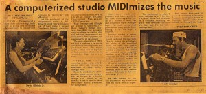 Chronicle Studio Article